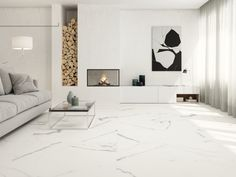 Boutique Palmas Glazed Porcelain Wall & Floor Tile 600 x Marble Interior, Room Interior, Marble Floor, Tile Floor, Calacatta Marble, Tile Manufacturers, Italian Marble, Marble Effect, Tile Installation