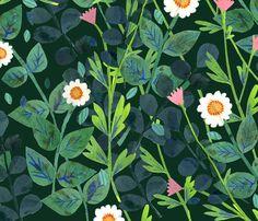 """Tobie"" FOREST - phoebewahl - Spoonflower"