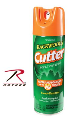 Unscented Backwoods Cutter (R) Insect Repellent Aerosol * I have not tried it yet, can't say it is in fact unscented