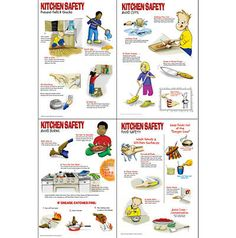 Kitchen Safety | Worksheets, Safety and Free printable