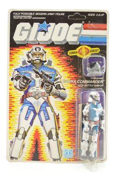 G.I.JOE ACTION FORCE FIGURE TECHNO VIPER V1 FROM 1987