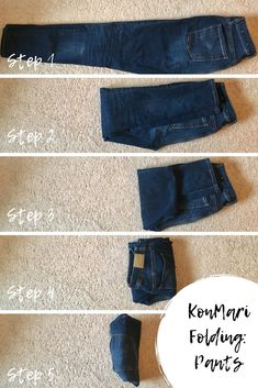 This is a must-see KonMari closet transformation! Check out a his and hers KonMari method wardrobe plus get a sneek peek at an easy KonMari folding guide! organization how to organize KonMari Closet Makeover. A Husband and Wife's Before and After. Wardrobe Organisation, Organization Hacks, Clothing Organization, Clothing Storage, Organizing Kids Clothes, Organizing Small Closets, Closet Clothing, Bra Storage, Underwear Organization