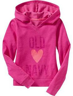 Girls Graphic Pullover Hoodies | Old Navy
