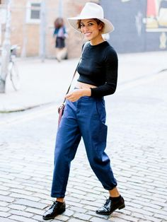 In Her Shoes: Our Favorite Blogger Takes a Stylish London Stroll via @WhoWhatWear