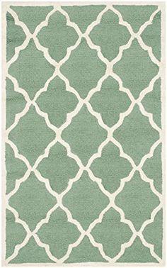 Safavieh Noelle Strukturierte Bereich Teppich, Blaugrün/E…