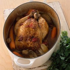 This triple-tested homemade chicken pot is a good dinner recipe for when you fancy a warming winter supper. Roast Dinner, Sunday Roast, Chicken Pot Recipe, Chicken Recipes, Perfect Roast Chicken, Always Hungry, Best Dinner Recipes, Dinner Is Served, Cooking Recipes