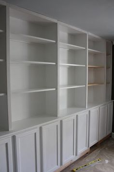 building built-in bookcases