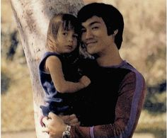 Bruce with his daughter Shannon