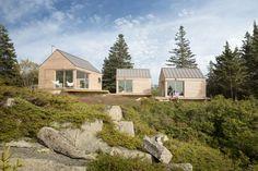 Little House on the Ferry   Custom Home Magazine   GO Logic, Vinalhaven, Maine, Single Family, Builder's Choice/ Custom Home Design Awards 2015, Design, Award Winners