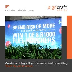 Create a call to action Signs are advertisements, and as any good advertiser knows, you need to get the customer to do something; that's the call to action. An effective sign needs to have a simple goal. Something that will encourage potential customers to call you immediately. To find out more about Signcraft Africa, call us on 011474 1315 or email us at info@signcraftafrica.co.za #CEOCircle #signagedesign #signcraftafrica #cladding #insulation #renovation #advertisingart #graphicsdesi Call To Action, Signage Design, Cladding, Insulation, Something To Do, How To Find Out, Goal, Encouragement, Advertising