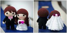 bride & groom   amigurimi