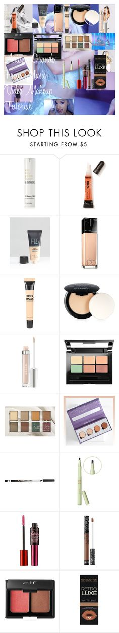 """""""Ariana Grande Focus Music Video Makeup Tutorial"""" by oroartye-1 on Polyvore featuring beauty, This Works, L.A. Girl, Maybelline, NYX, Stila, Pixi, Kat Von D and e.l.f."""