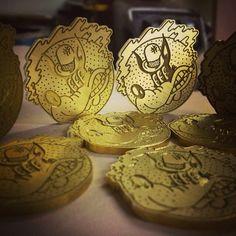 Brass engraving bespoke cnc machining