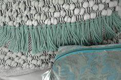 Goround interior. Winter collection 2016, Cotton ecru/grey