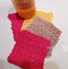 7. desember - fra restegarn til miljøpads - Fra kosekroken - Chris-Ho.com Crochet, Blog, Design, Fashion, Threading, Chrochet, Moda, Fashion Styles, Crocheting