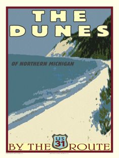 Martens Printworks Dunes Print - The Awesome Mitten