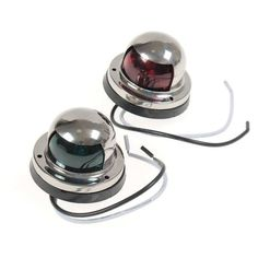 Pair 12V Red & Green Stainless Steel Navigation Light For Marine Boat Yacht  Worldwide delivery. Original best quality product for 70% of it's real price. Buying this product is extra profitable, because we have good production source. 1 day products dispatch from warehouse. Fast...