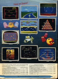 Sears ad for video games.