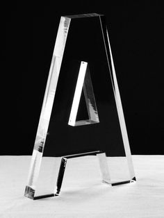 Acrylic Letter A - Gilt Home