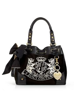 Juicy Couture.....I love my handbag.I have the matching wallet and make-up bag to go with it:)