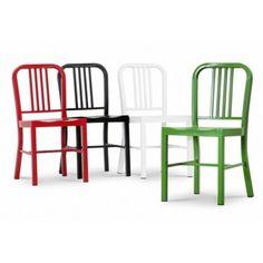 Krzesło Army - Aluminium insp. Nimitz Dining Chair