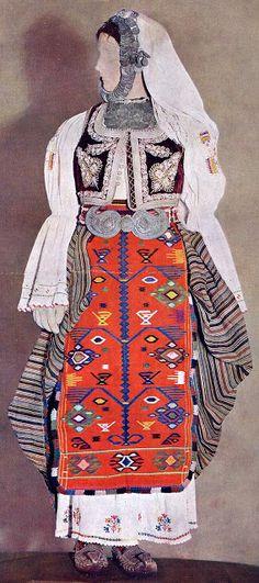 Costume of central Serbia, or Šumadija, Шумадија
