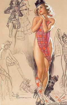 K. O. Munson pin-up picture