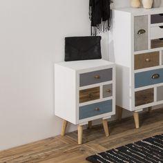 Kourtney 4 Drawer Bedside Table