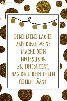 #neujahr #sprüche  #Neujahrsgrüße #Neujahrswünsche Auf ROOMBEEZ findet Ihr diesen und 19 weitere schöne Grußkarten!