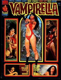 VAMPIRELLA #45 Jose Gonzalez Rafael Auraleon Esteban Maroto Jose Ortiz Sexy Blood Sucking Vampire Cult Anti-Hero