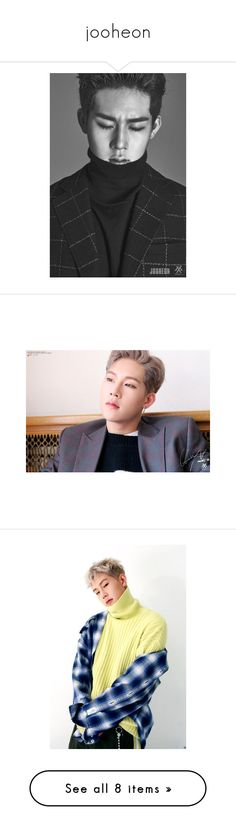 """""""jooheon"""" by soft-bites ❤ liked on Polyvore featuring home, home decor, jooheon, monsta x and people"""