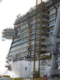 Royal Princess Construction by Princess Cruises, via Flickr