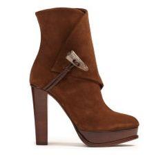 Horn-Toggle Suede Boot - Ralph Lauren Boots - RalphLauren.com