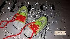 ElinorHandmade / Neonové žltozelené tenisky