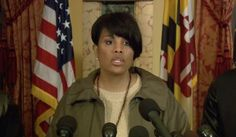 "Baltimore Mayor allowed destruction of property.. I heard her say it, THERE ARE NEWSCASTS WHO RECORDED IT.... and now at a little after 11pm she denies she said that. She said "" Do not twist my words"".. Incompetent Mayor denies what is recorded her saying.. !!! I don't know for sure.. BUT I BET SHE IS A DEMOCRAT !"