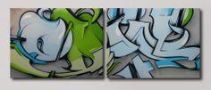 Graffiti schilderij