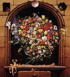 Dutch bouquet - Jacek Yerka