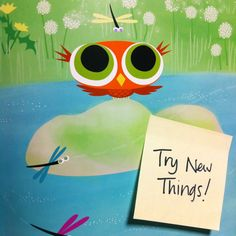 This week's #TeachableMoment is to expand your perspective and try new things! Little Owl is usually only awake at night, but once he wakes up during the day and discovers wonderful animals and gorgeous nature right near his home that he never gets to see at night. Learn with Little Owl as he realizes that there is more than one way to see things in LITTLE OWL'S DAY by Divya Srinivasan.