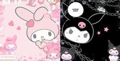 Kuromi and Melody PC Wallpaper