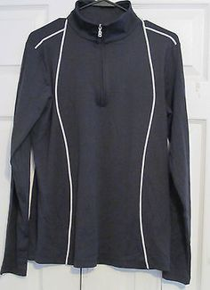 Bogner Women's Golf Jacket, XL,Navy Blue, Marna, 1/4 Zip, New With Tags