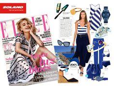 Elle Magazine #eyewear #magazine #press #fashion #article #sunglasses #summer