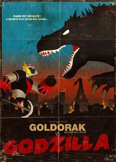 Goldorak VS Godzilla