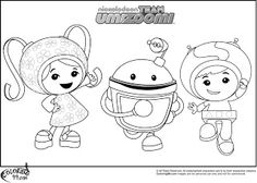 Umizoomi coloring pages on Coloring Bookinfo Coloring