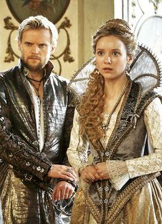 Marc Warren & Alexandra Dowling in 'The Musketeers' (2014).