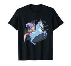 Chipmunk Unicorn Girls Space Galaxy Magical Animals T-Shirt Funny Graphic Tees, Chipmunks, Branded T Shirts, Funny Tshirts, Fantasy, Lover Clothing, Fashion Brands, Unicorn, Cute Animals