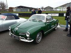 Green Karmann Ghia, love this!