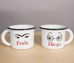 Set 2 Tazas Frida y Diego