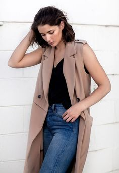 How To Wear A Sleeveless Coat