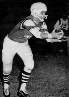 Elvis playing football with his local team in Memphis in july 20 1962.