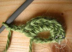 Kursy krok po kroku - rękodzieło Crochet Earrings, Projects To Try, Diy, Wool, Bricolage, Do It Yourself, Homemade, Diys, Crafting